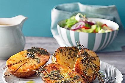 Ofenkartoffeln mit frischen Kräutern 1