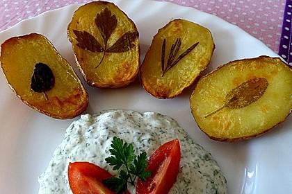 Ofenkartoffeln mit frischen Kräutern 8