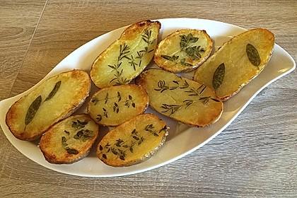 Ofenkartoffeln mit frischen Kräutern 3