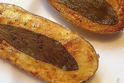 Ofenkartoffeln mit frischen Kräutern 27
