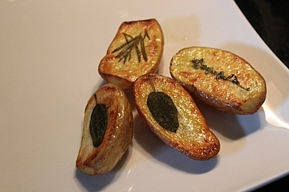 Ofenkartoffeln mit frischen Kräutern 30