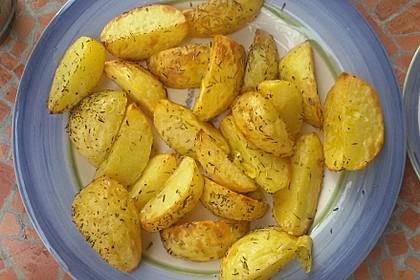 Ofenkartoffeln mit frischen Kräutern 19