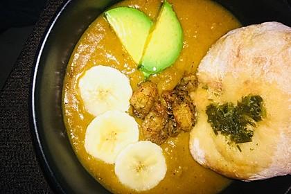 Süßkartoffel - Kokos - Suppe 3