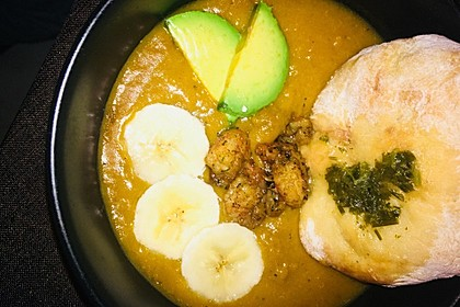 Süßkartoffel - Kokos - Suppe 4