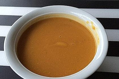 Süßkartoffel - Kokos - Suppe 11
