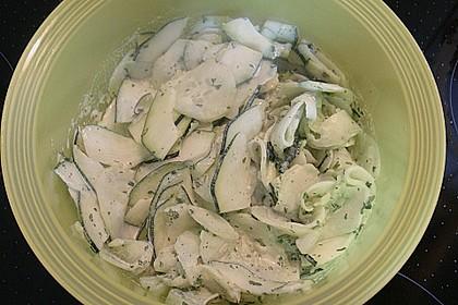 Einfache Salatsoße für Blattsalate 13