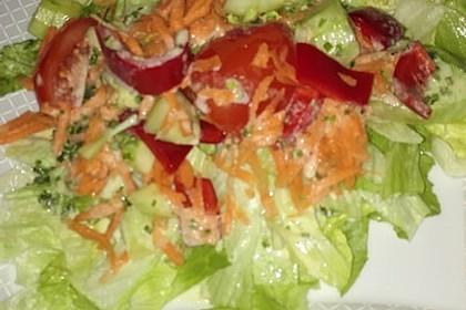 Einfache Salatsoße für Blattsalate 15