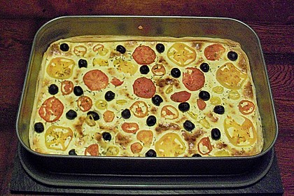 Tomaten - Ziegenkäse - Quiche 1
