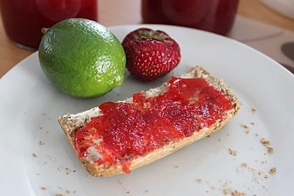 Erdbeer - Limetten - Marmelade 1