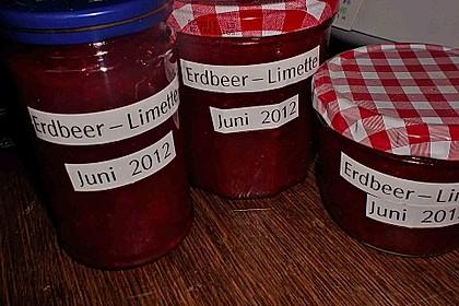 Erdbeer - Limetten - Marmelade 9