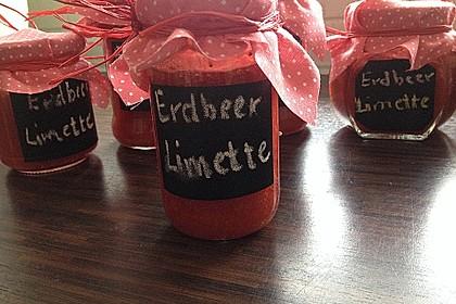 Erdbeer - Limetten - Marmelade 3