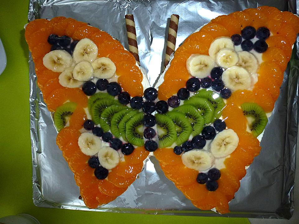 Schmetterlingkuchen Von Mia1078 Chefkoch De