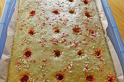 Ringelblumen - Kuchen 3