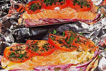 Fisch aus der Folie 7