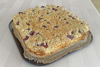 Schneller Quark-Streuselkuchen mit Obst 100