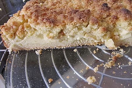 Schneller Quark-Streuselkuchen mit Obst 160