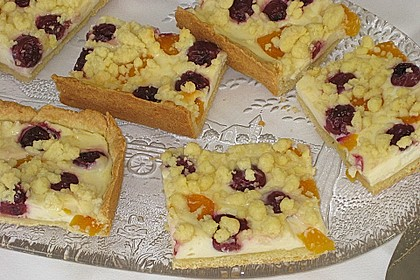 Schneller Quark-Streuselkuchen mit Obst 12