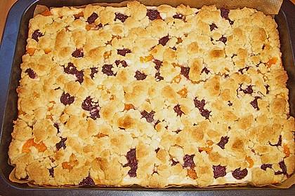 Schneller Quark-Streuselkuchen mit Obst 173