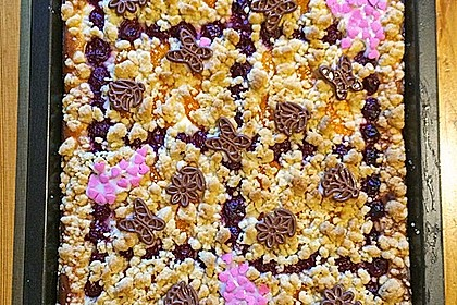 Schneller Quark-Streuselkuchen mit Obst 125