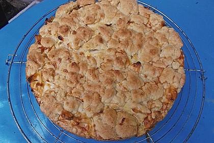 Schneller Quark-Streuselkuchen mit Obst 130