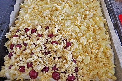 Schneller Quark-Streuselkuchen mit Obst 146