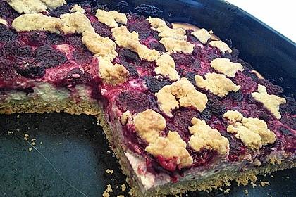 Schneller Quark-Streuselkuchen mit Obst 150