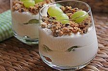 Quark - Amarettini - Dessert