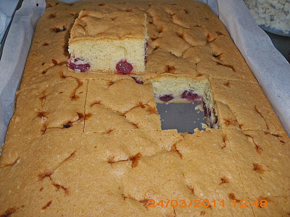 Einfacher Blechkuchen von JennyL82 | Chefkoch.de