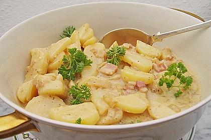 Warmer dänischer Kartoffelsalat 1