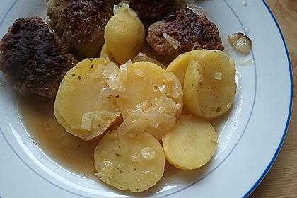 Warmer dänischer Kartoffelsalat 9