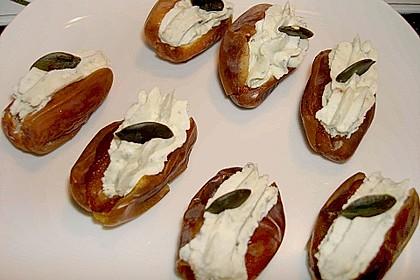 Roquefort datteln rezept mit bild von bushcook for Datteln deko