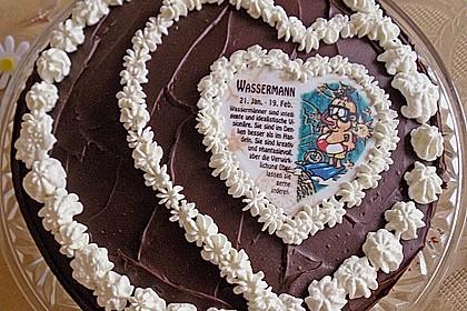 Schokolade - Buttermilch - Torte 16