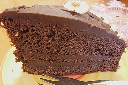 Schokolade - Buttermilch - Torte 40