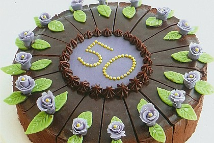 Schokolade - Buttermilch - Torte 1