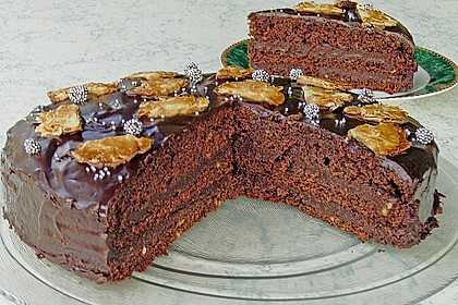 Schokolade - Buttermilch - Torte 5