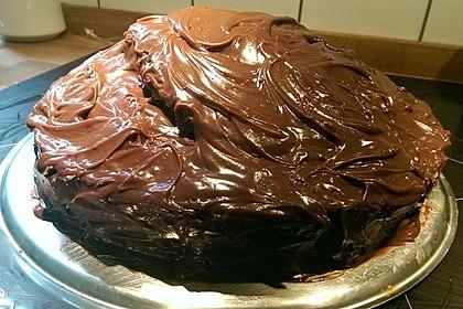 Schokolade - Buttermilch - Torte