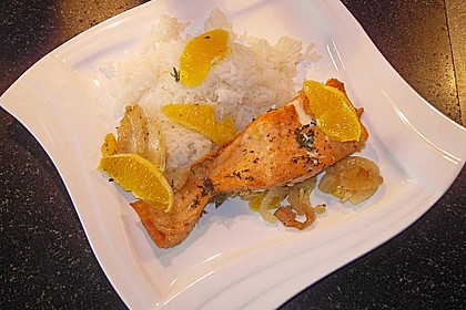 Fischfilet mit Fenchel und Orange 3