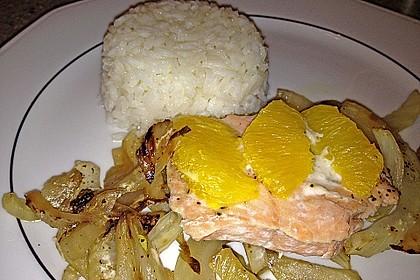 Fischfilet mit Fenchel und Orange 6