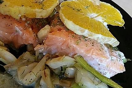 Fischfilet mit Fenchel und Orange 2