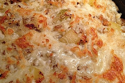Grünkern - Sauerkraut - Auflauf 6