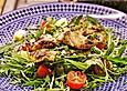 Mango - Rucola - Salat mit Ingwerdressing
