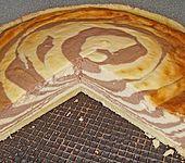 Marmorierter Käsekuchen (Bild)