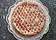 Topfen - Gitterkuchen mit Brombeeren