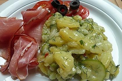 Schwäbischer Kartoffelsalat 3
