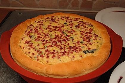 Deftiger Zwiebel - Lauch - Kuchen 5