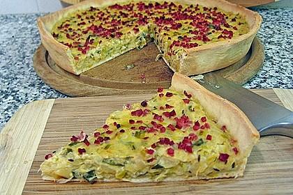 Deftiger Zwiebel - Lauch - Kuchen 2