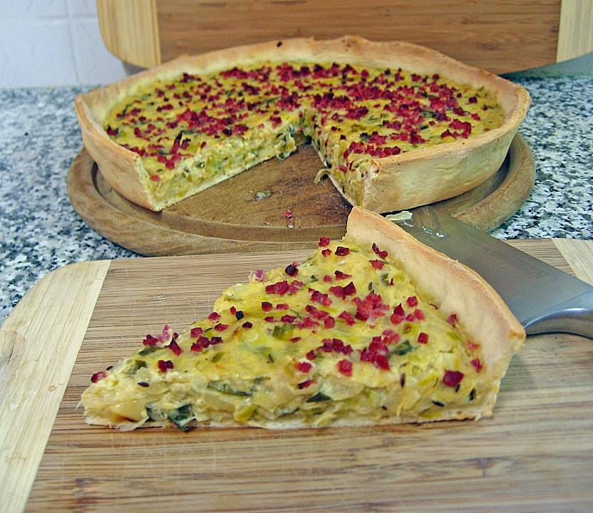 kuhle dekoration kuchen gunstig, deftiger zwiebel - lauch - kuchen | chefkoch.de, Innenarchitektur