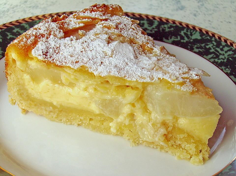 Franzosischer apfel birnen kuchen