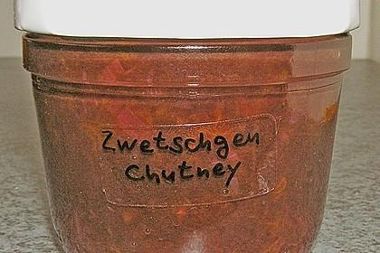Pflaumen (Zwetschgen) - Chutney 21