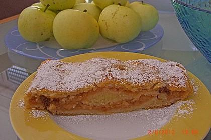 Topfenteig - Apfelstrudel 15